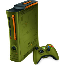 Xbox 360 120GB Console Halo 3 Special Edition w/ HDMI + Controller – Green (Refurbished)