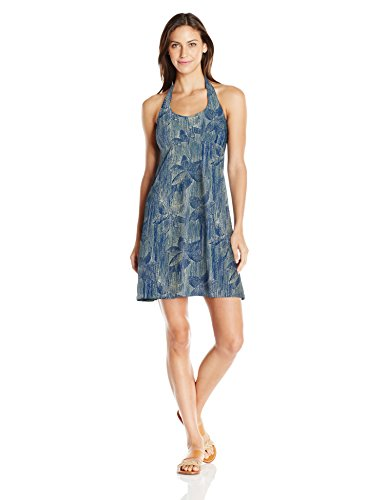 Columbia Women's Sportswear Armadale Halter Top Dress, Sunlit Hazy Floral, X-Small