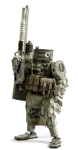 ThreeA Toys Caesar USMC World War Robot Action Figure