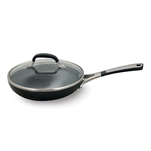 Simply Calphalon 8 Inch Covered Omelette Fry Pan, Black