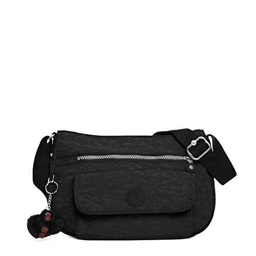 Kipling Syro Hobo, Black, One Size