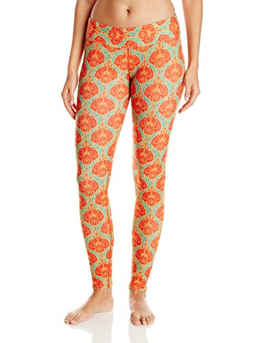 Hot Chillys Women's MTF4000 Fiesta Print Tights, Medium, Casablanca