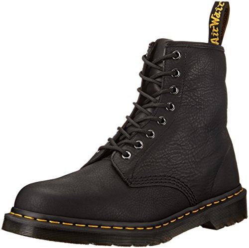 Dr. Martens Men's 1460 Carpathian Combat Boot, Black, 9 UK/10 M US