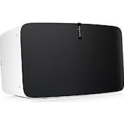 play5 ultimate wireless smart speaker for streaming music works with alexa - PLAY:5 Ultimate Wireless Smart Speaker for Streaming Music, Works with Alexa, White