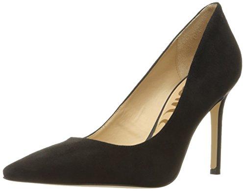 Sam Edelman Women's Hazel Dress Pump, Black Suede, 7.5 M US
