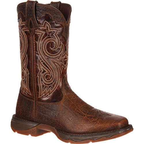 Durango Women's RD3315 Western Boot, Dark Sunset Brown, 10 M US