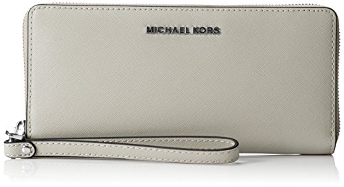 Michael Kors Jet Set Travel Saffiano Leather Continental Wallet – 8.25in X 4in X 0.75in