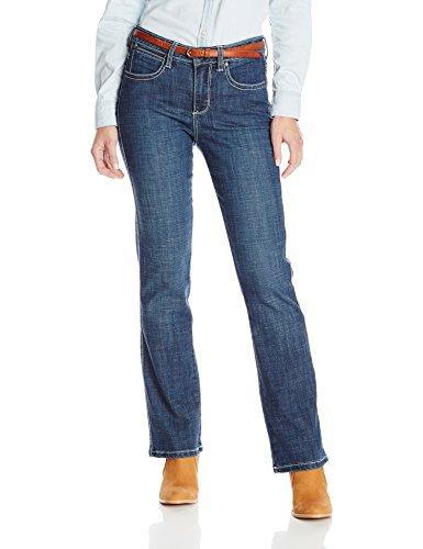 Wrangler Women's Aura Instantly Slimming Jean,  Midnight Spark, 14 Avg