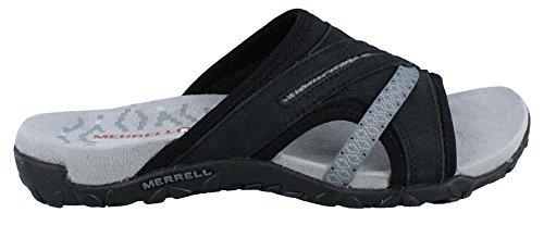 Merrell Women's Terran Slide II Sandal, Black, 6 M US