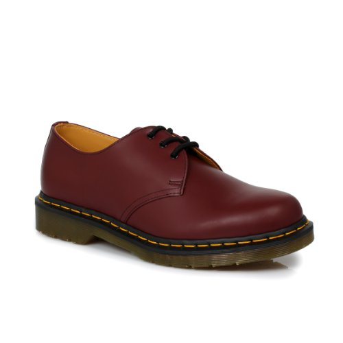 Dr. Martens 1461 W Three-Eye Oxford Shoe Womens Style: 11837600-CHERRY/RED/SMOOTH Size: 39