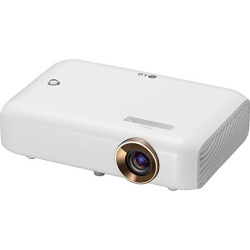 LG PH550 Minibeam Projector with Bluetooth Sound, Screen Share and Built-in Battery (2016 Model)