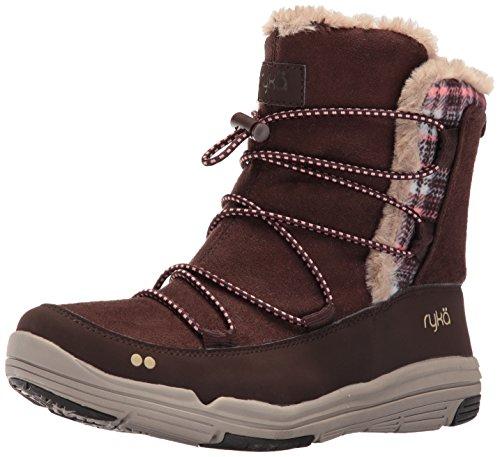 Ryka Women's AUBONNE Fashion Sneaker, Brown/Peach/Tan, 8.5 M US