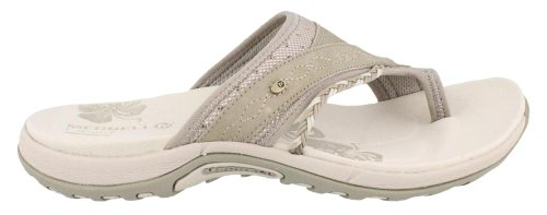 Merrell Women's Hollyleaf Sandal,Taupe,8 M US
