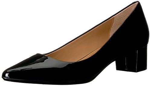 Calvin Klein Women's Genoveva Dress Pump, Black Patent, 8.5 M US