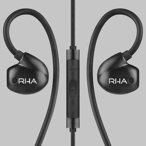 rha t20i in ear monitors gen 2 hifi noise isolating stainless steel - RHA T20i in-Ear Monitors (Gen. 2): HiFi Noise Isolating Stainless Steel in-Ear Headphones with Remote & Mic