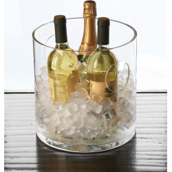 Clear Round Ice Bucket