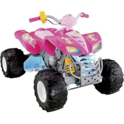 Fisher-Price Power Wheels Barbie Kawasaki Kfx