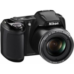 Nikon COOLPIX L810 Black 16MP Digital Camera w/ 26x Optical Zoom Lens, 3″ LCD Display, HD Video, 3D Images