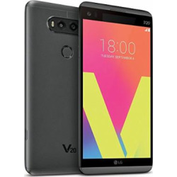 LG V20 H918T T-Mobile 4G LTE Quad-Core Phone w/ Dual Rear Camera (16MP+8MP) – Titan (Certified Refurbished)