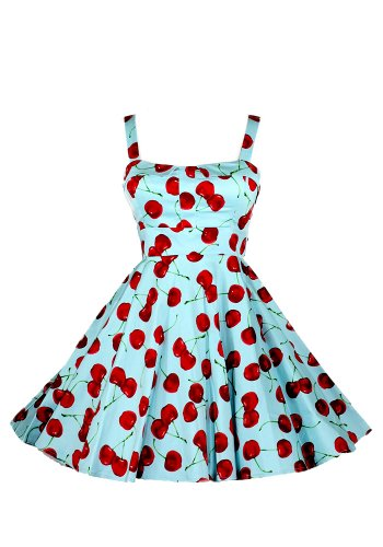 Ixia Wild Cherry Fold Over Dress-Aqua-Medium
