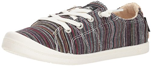 Roxy Women's Rory Fashion Sneaker Shoe, Multi/Olive, 7.5 Medium US