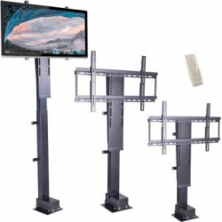 Motorized TV Lift Stand with Remote Control for Big Panel 30″-60″
