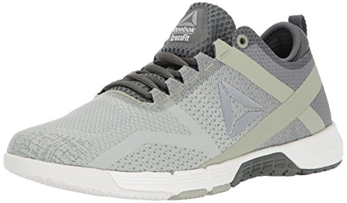 Reebok Women's Crossfit Grace TR Track Shoe, Ironstone/Chalk/Mystic Grey/Silver Metallic, 7 M US