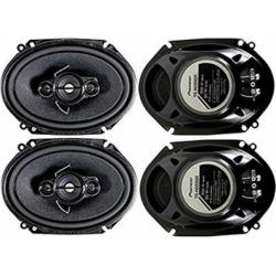 4 Pioneer 5×7 / 6×8 Inch 4-Way 350 Watt Car Stereo Speakers Four | TS-A6886R