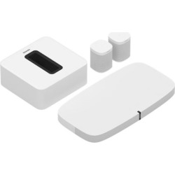Sonos 5.1 Surround Set with PLAYBASE, SUB and 2 Sonos Ones (White) – PLAYBASE51WH2