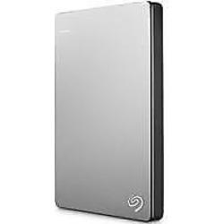 Backup Plus Slim 2TB Portable USB 3.0 External Hard Drive for Mac, 100Mbps Data Transfer Rate – Silver & Black