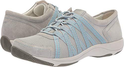 Dansko Women's Honor Sneaker, Grey Suede, 38 M EU (7.5-8 US)