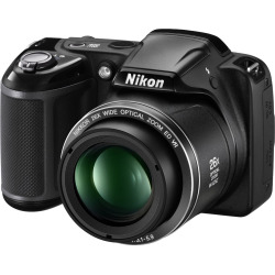 Nikon Coolpix L330 Digital Camera 20.2MP with 26X Optical Zoom Black