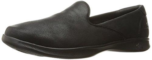 Skechers Performance Women's Go Step Lite-Determined Loafer Flat, black, 7 W US