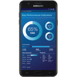 Samsung Galaxy J7 Black 32GB Unlocked Phone – SM-J737UZKAXAG