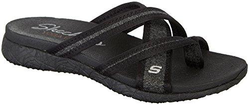 Skechers Women's Microburst – Too Hot Black Athletic Shoe
