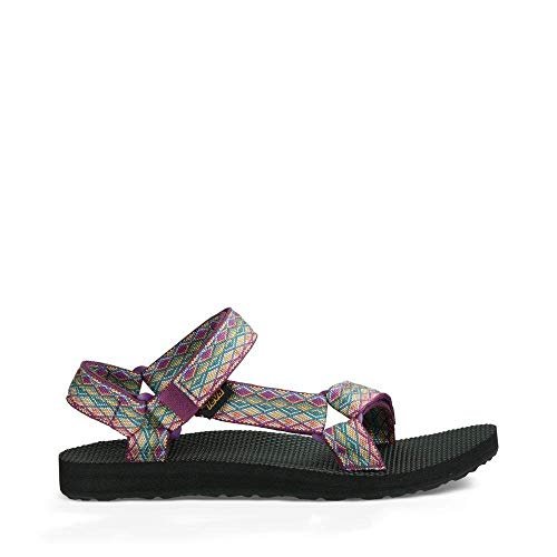Teva Women's W Original Universal Sandal, Miramar Fade Dark Purple/Multi, 8 M US