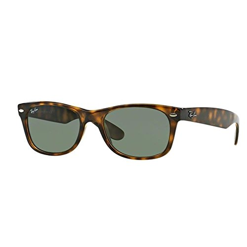 Ray-Ban Unisex RB2132 New Wayfarer Sunglasses,Tortoise, 55mm