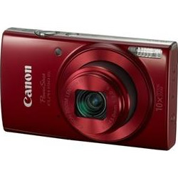 Canon PowerShot ELPH 190 IS Digital Camera with 10x Optical Zoom and Wi-Fi – Red