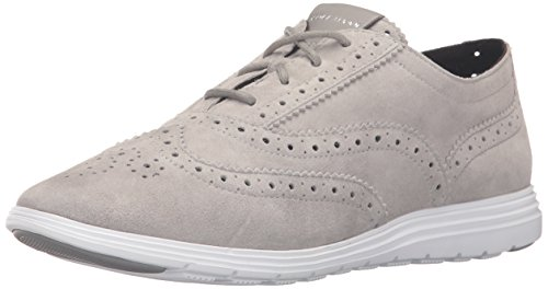 Cole Haan Women's Grand Tour Oxford, Ironstone/Optic White, 5.5 B US