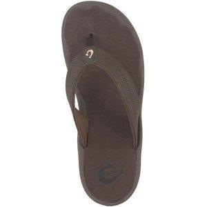 OluKai Women's 'Ohana Sandal – Dark Java/Dark Java – Women's Size 9