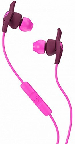 Skullcandy XTplyo In-Ear Sport Earbuds with Mic, Plum/Pink