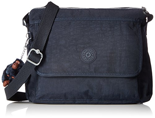 Kipling Aisling Solid Crossbody Bag Convertible Cross Body,True Blue,One Size