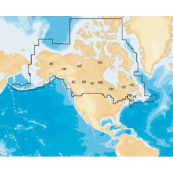 Navionics Plus Regions Canada Marine and Lake Charts on SD/MSD
