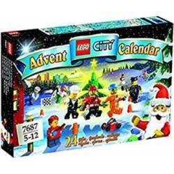 LEGO City 2009 Advent Calendar Set #7687