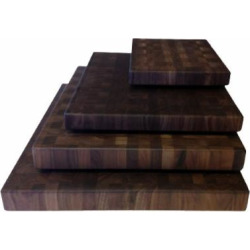 Walnut Cutting Boards End Grain Hardwood Butchers Chopping Block Size: Small 9×12 inch