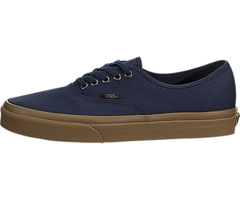 Vans Authentic Mens Size 8 / Womens Size 9.5 Light Gum Dress Blues Skateboarding Shoes