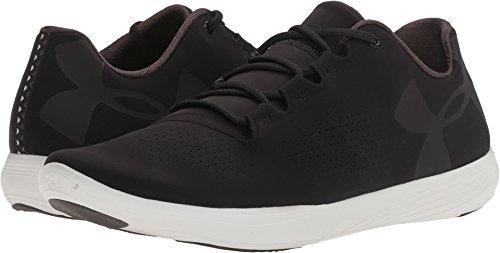 Under Armour Men's Street Precision Low Sneaker, Black (001)/White, 6