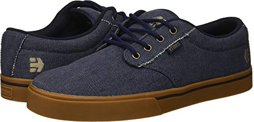 Etnies Men's Jameson 2 ECO Skate Shoe, Dark Blue/Gum, 10.5 Medium US