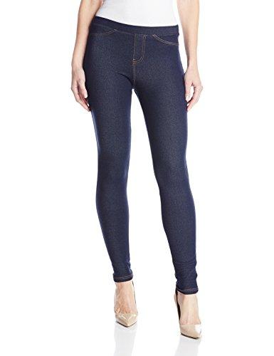 No Nonsense Women's Legging, Dark Denim, X-Large