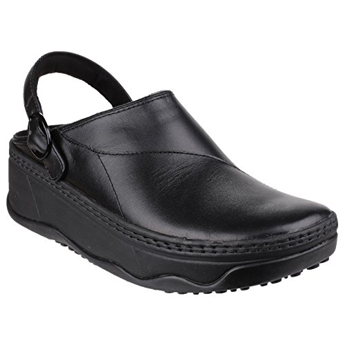 FitFlop Womens/Ladies Gogh Pro Work Mules (11 US) (Black)